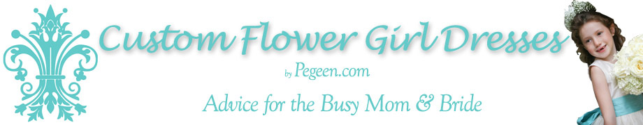 Flower Girl Dresses & Suits Inspired by Pegeen.com
