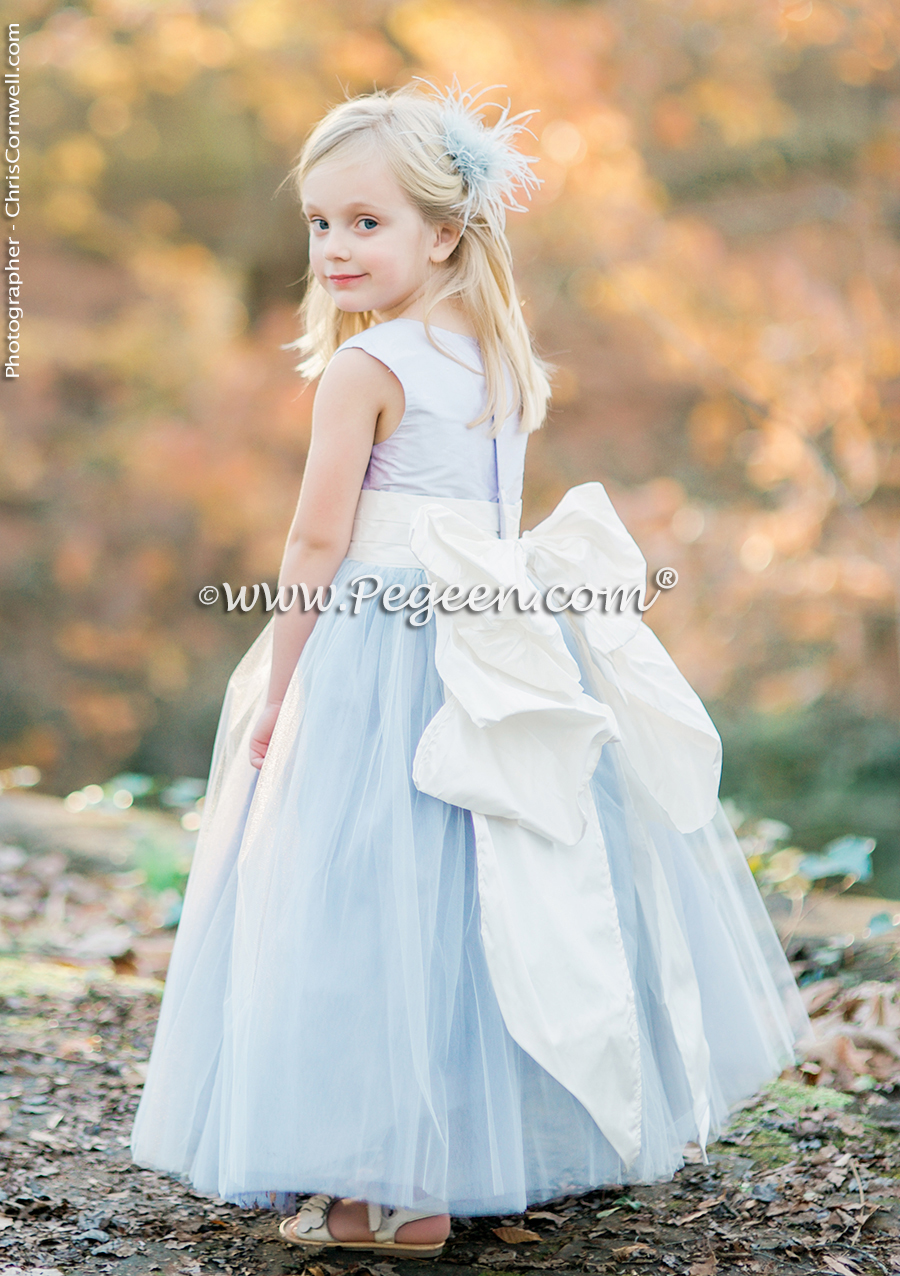 Aqua Themed Weddings   Flower Girl Dresses & Suits ...